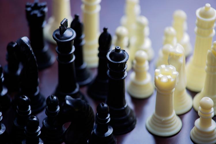 jeux d'échecs en plastique