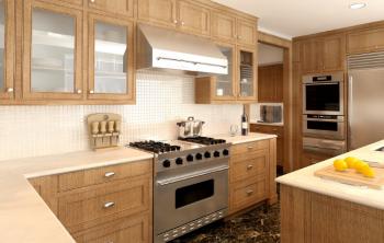 Décorer sa cuisine avec un sol à damier - 1