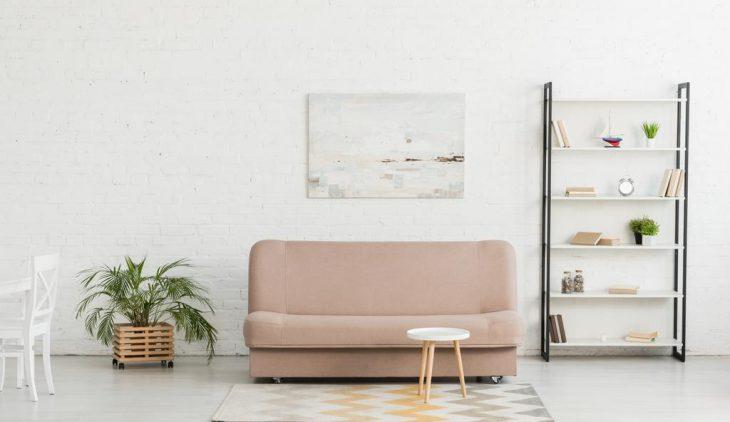 salon blanc chaleureux